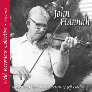 FRC405 – John Hannah –(From the collection of Jeff Goehring)