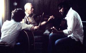 Joe LaRose, Rector Hicks and Roy Combs, June, 1982