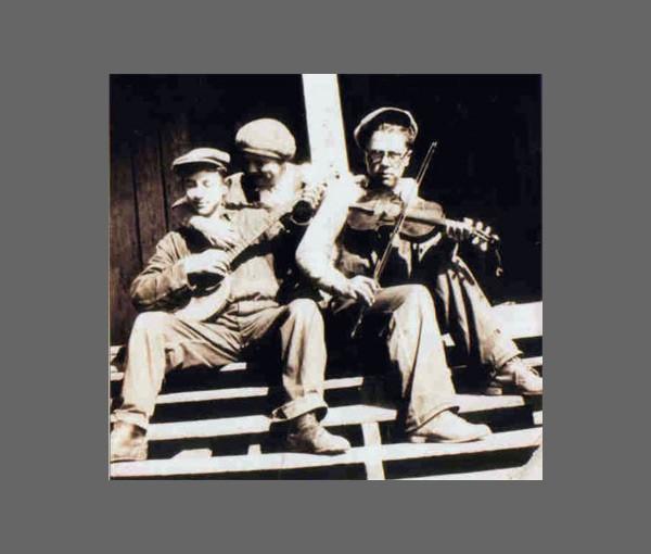 Corbett Stamper with Albert Hash's brother