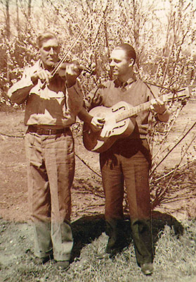 Lawn Brooks and Cliff Evans