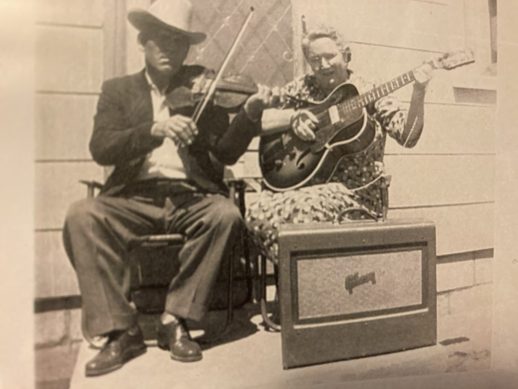 Toney & Pearl Adams (from Houston)